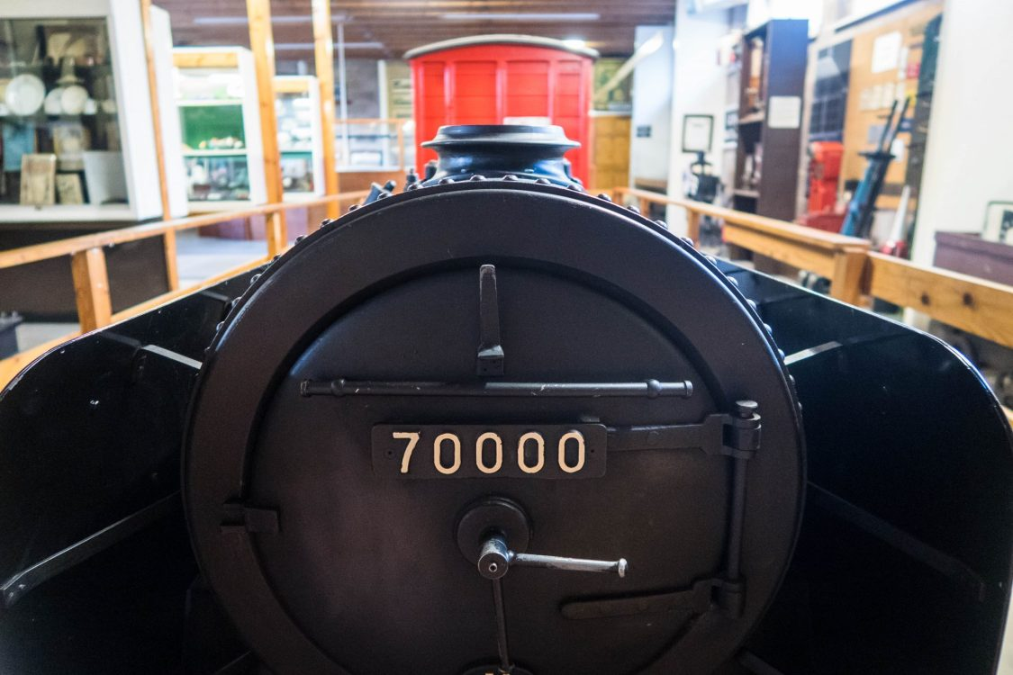 Conwy Valley Railway Museum - a locomotive