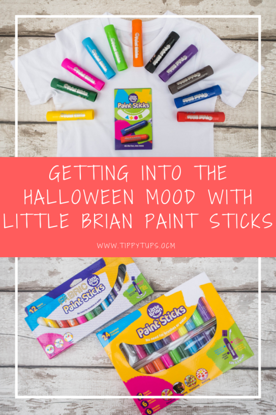 A spook-tacular challenge. Create a Halloween masterpiece using Little Brians Paint Sticks. Kids will enjoy creating t\heir own halloween costumes. A fabulous halloween craft for children and adults alike.