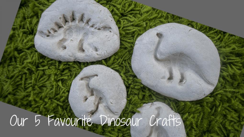 Dinosaur Crafts - blog post header