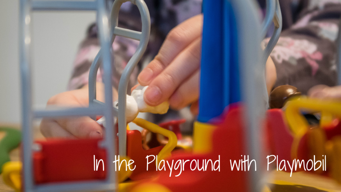In the Playground with Playmobil - blog post header