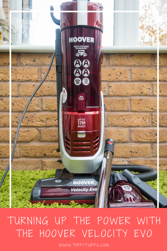 Product review. The Hoover Velocity Evo is a powerful cleaner with a long reach and great suction lifting both pet hair and toddler carnage in one pass.