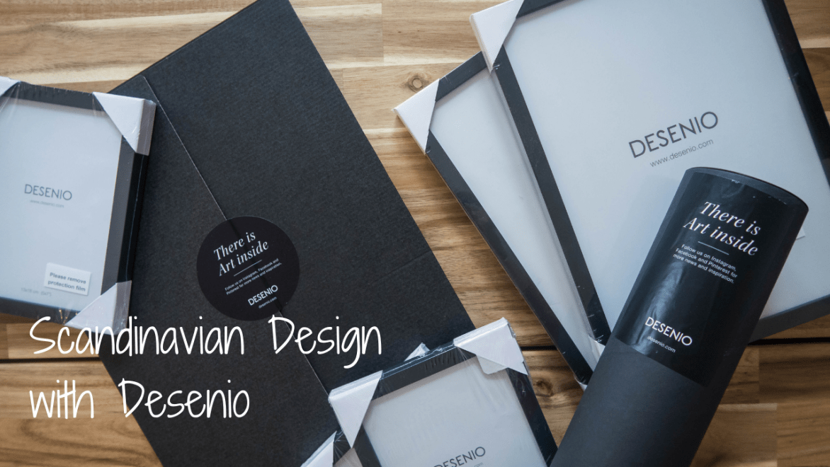 Scandinavian Design with Desenio - blog post header