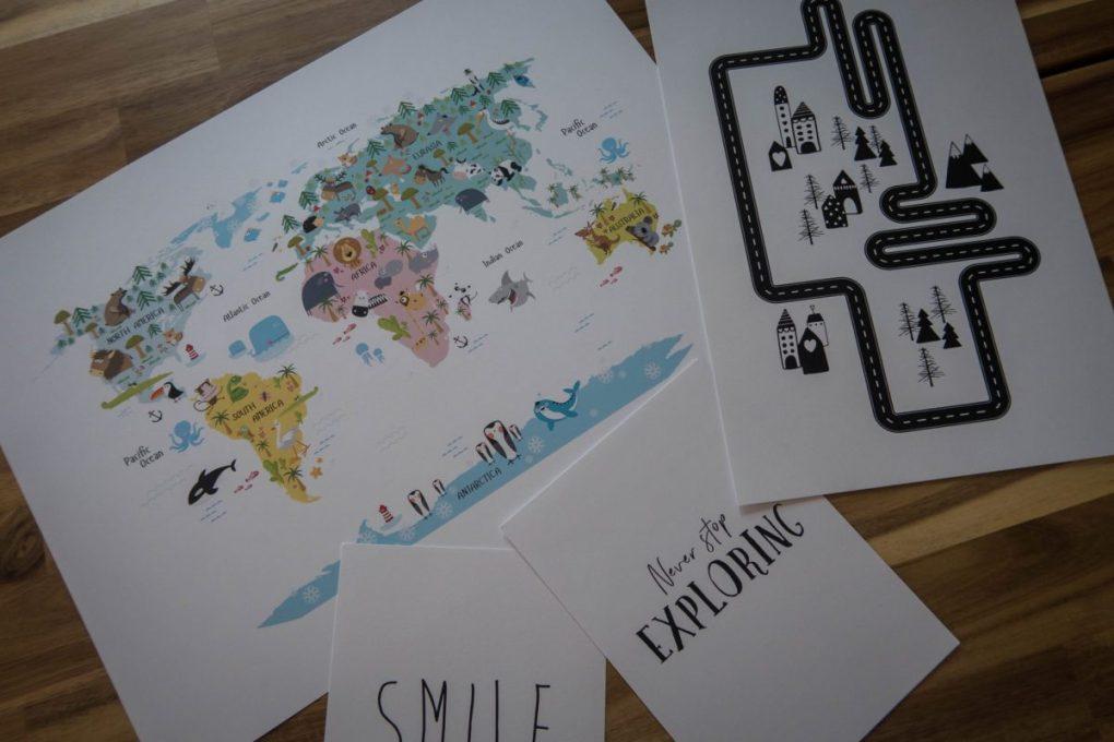 Scandinavian Design with Desenio - prints