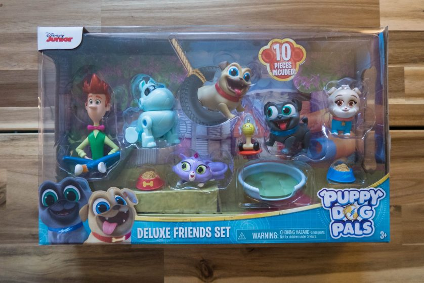 Making Friends with the Puppy Dog Pals