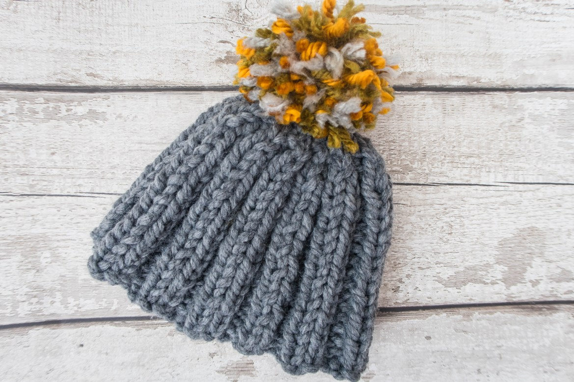 Stash Busting Chunky Bobble Hat