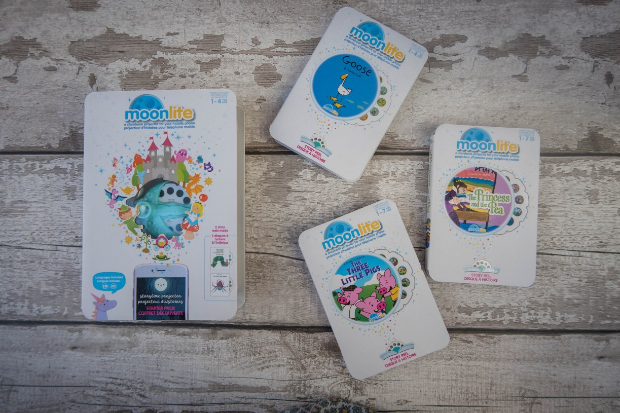 A new kind of storytime with Moonlite - the range