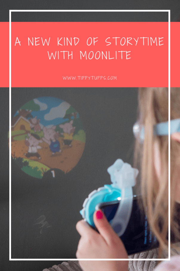 With World Book Day around the corner, what better timing to share a new way to enjoy books? We were recently offered the chance to review Moonlite - a storytelling experience with a difference - and as we have two little bookworms who love to read, I was keen to get involved.