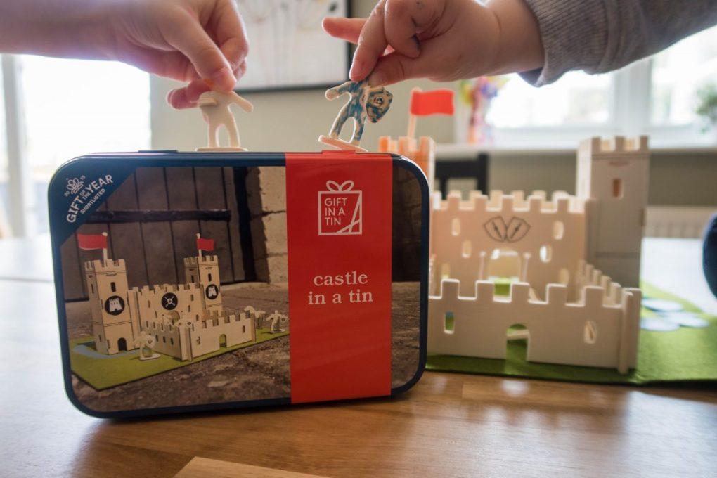Castle in a Tin - imaginative play