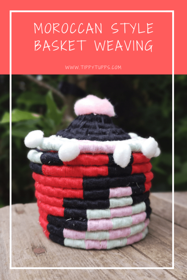Grown up crafts: A simple but effective form of basket weaving. Although this takes a long time to create, the end result is bold, beautiful and strong. People who enjoy crafts will love trying this