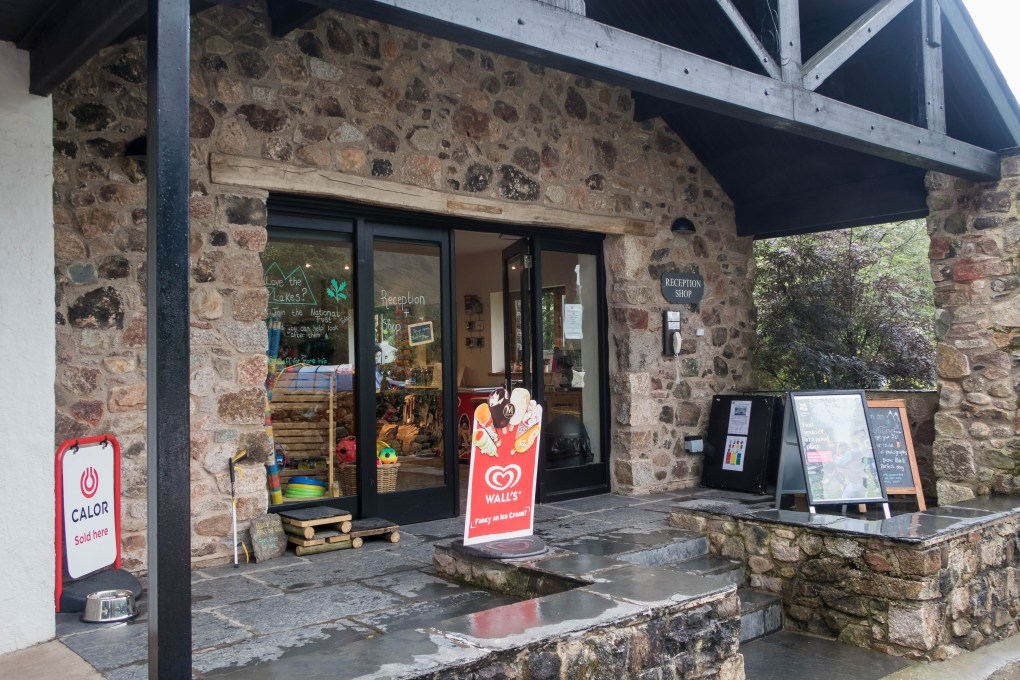 Eskdale camping - the campsite shop