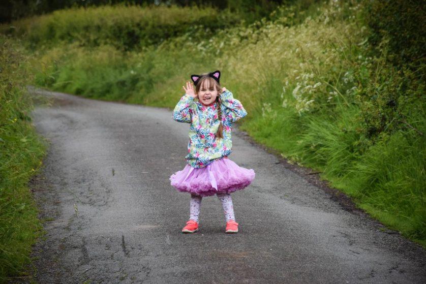 Dear Darcie – on your fifth birthday