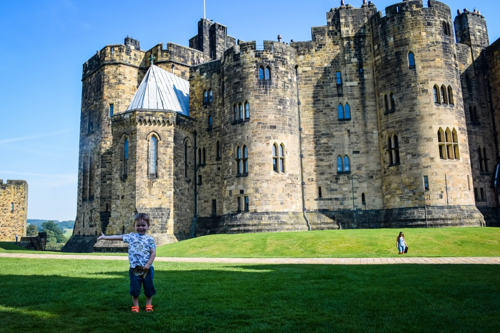 The iconic view of Alnwick Castle
