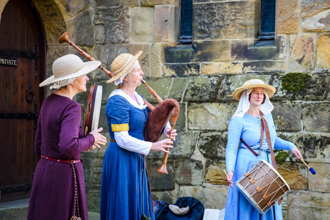 Traditional music at Alnwick Castle