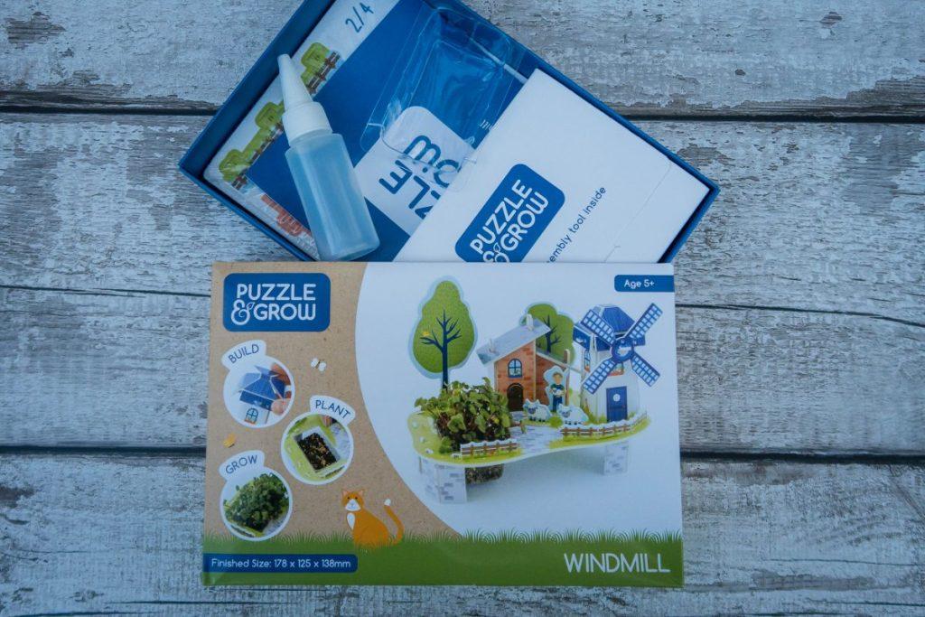 Half term crafts - puzzle & grow