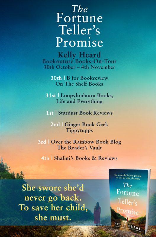 The Fortune Teller's Promise blog tour details
