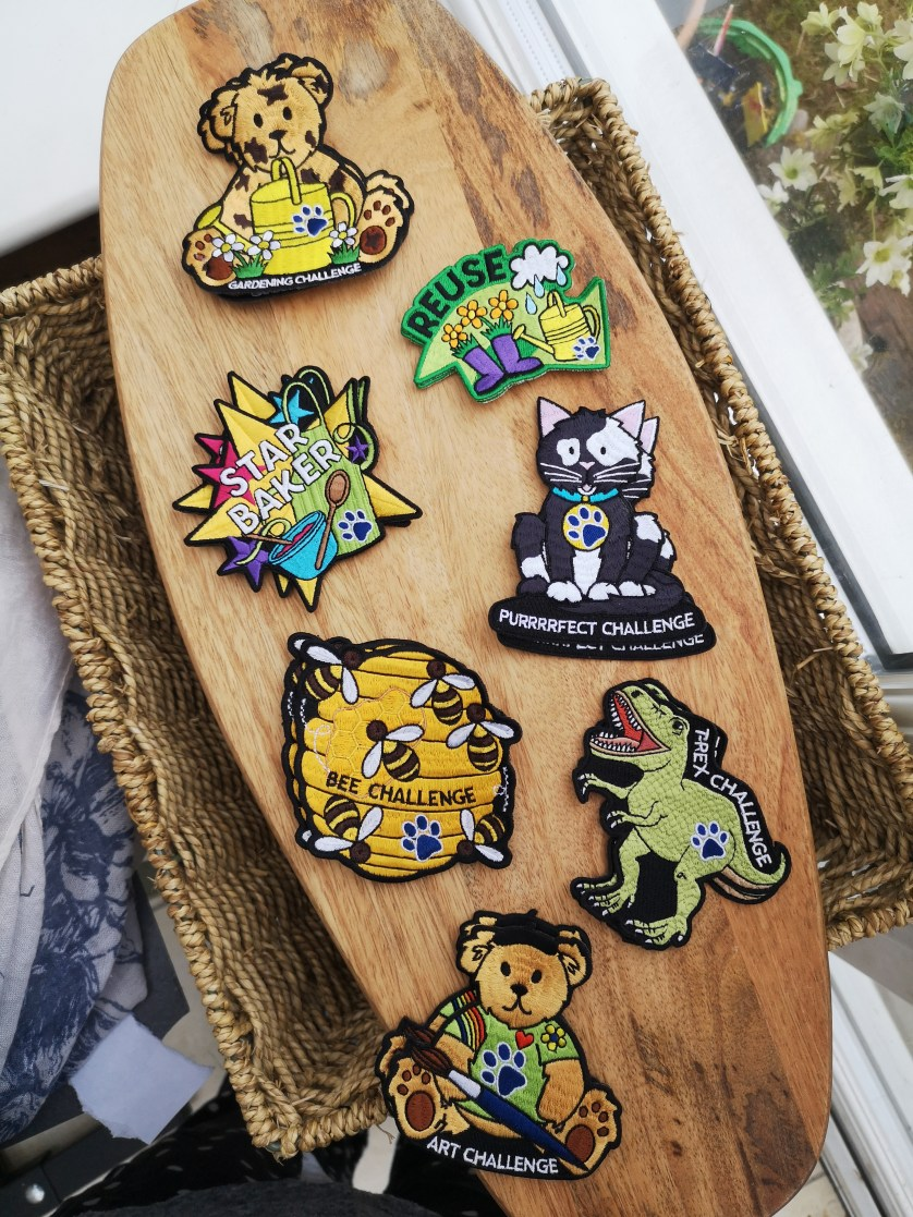 How Paw Print Badges have been keeping me sane