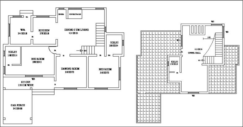 1800 Square Feet 3 Bedroom New Modern Home Design and Plan