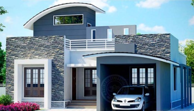750 Square Feet 2 Bedroom Low Budget Home Design and Plan ...