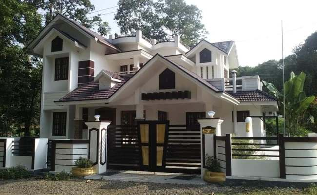 1486 Square Feet 3 Bedroom Kerala Traditional Style Two