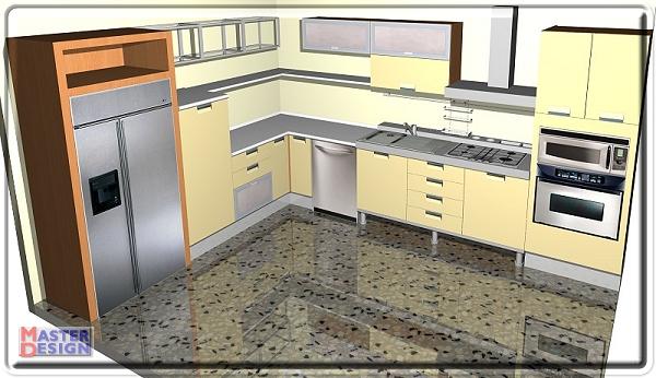 Casa immobiliare accessori Disegnare cucina