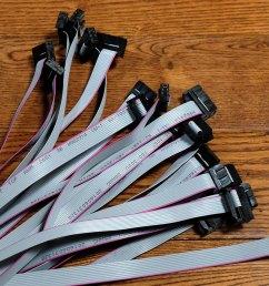 diy eurorack ribbon power cables [ 1500 x 1116 Pixel ]