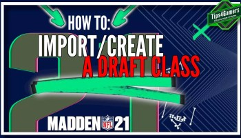 How to Import/Create a Draft Class in Madden 21