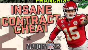 Madden 22 Contract Glitch