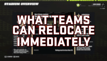 What Teams Can Relocate in Madden 22 Right Away