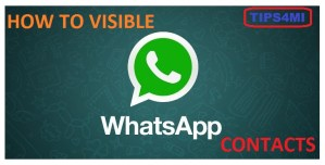 Contact Name Not Showing In WhatsApp