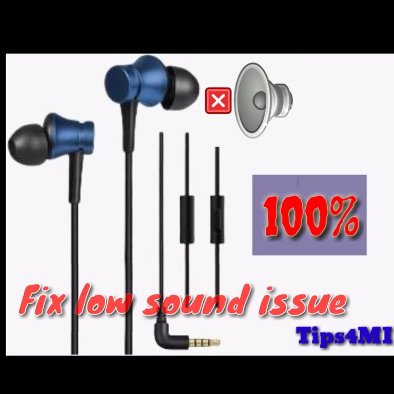 How to fix low sound issue