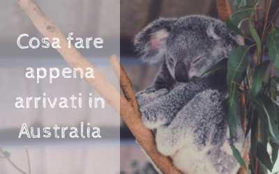 Cosa fare APPENA ARRIVATI in Australia…e come farlo nel miglior modo!