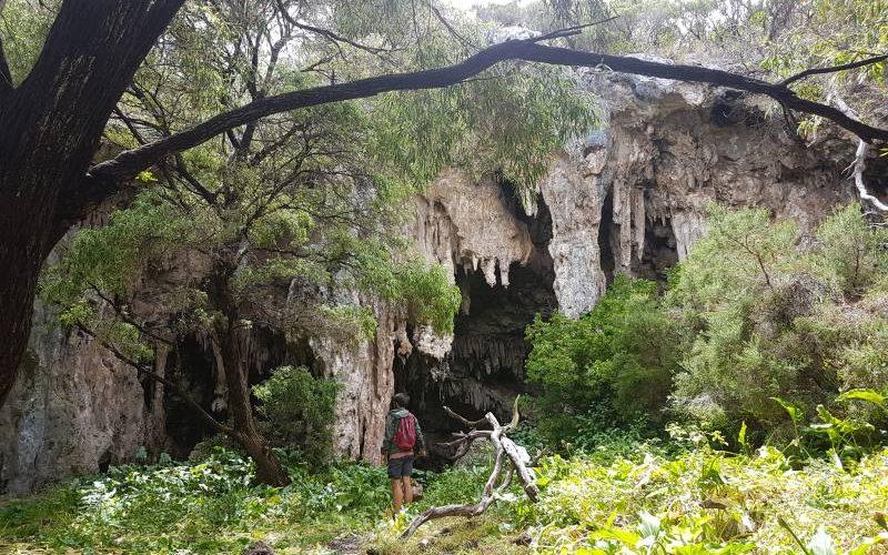 Grotta di calcare Small Cave a Margaret River