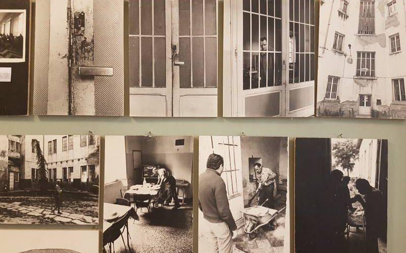 Foto dell'Ex Manicomio di Volterra all'interno del Museo