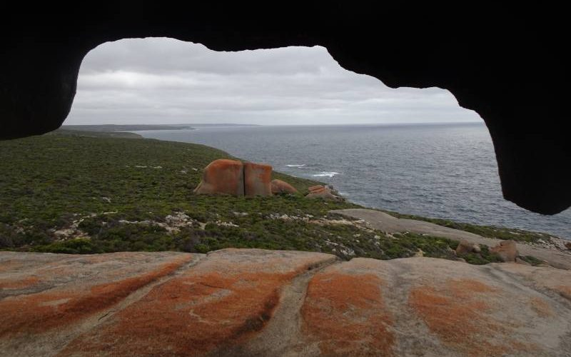 Dentro le Remarkable Caves, le famose rocce di Kangaroo Island