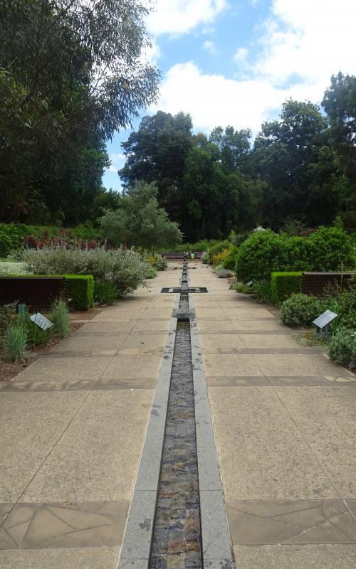 SA Water Mediterranean Garden dentro il Giardino Botanico di Adelaide in South Australia