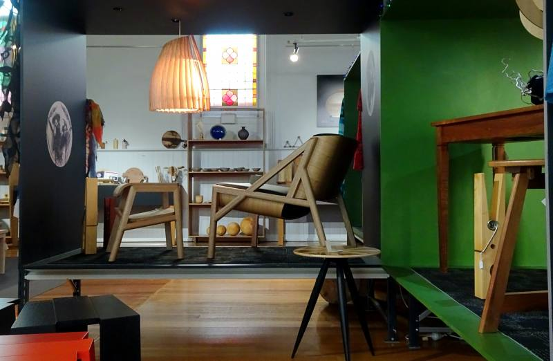 Museo del design in legno vicino al City Park di Launceston
