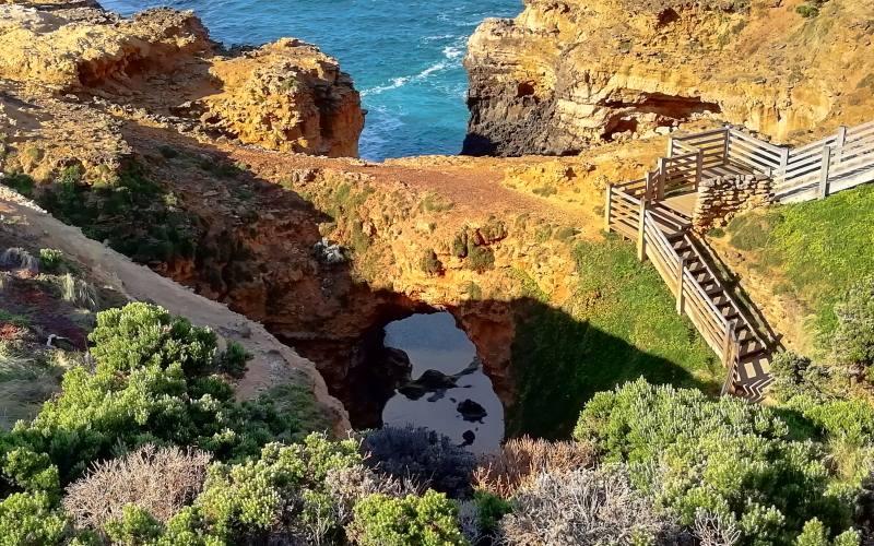 "Punto panoramico ""The Grotto"" lungo la Great Ocean Road"
