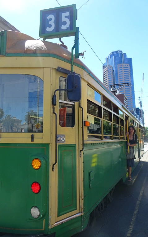 In giro per Melbourne con il tram gratuito 35, il City Circle
