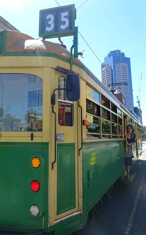 In giro per Melbourne con il tram gratuito 35, il City Circle