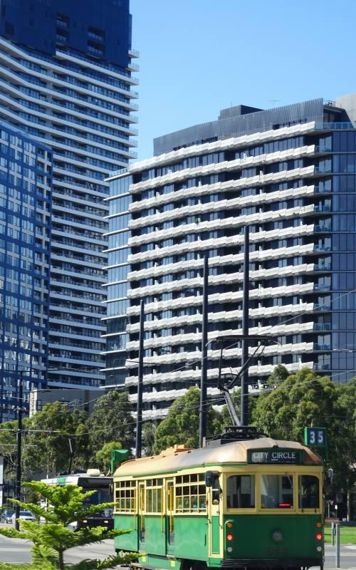 Tram numero 35, il City Circle di Melbourne