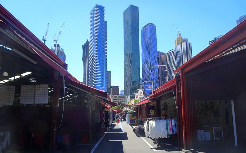"""Il mercato più famoso di Melbourne, il """"Queen Victoria Market"""""""