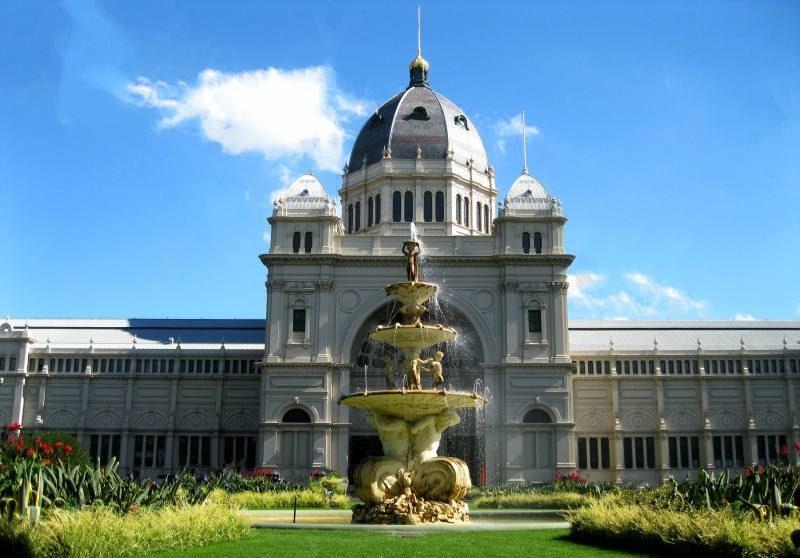 Esterno del Royal Exhibition Building di Melbourne, il primo edifico Patrimonio UNESCO d'Australia