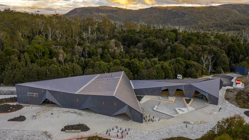 Il nuovo Visitor Centre di Cradle Mountain in Tasmania