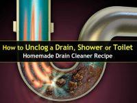 Homemade Drain Cleaner For Shower - Homemade Ftempo