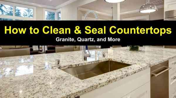 Clean and Seal Granite Countertops