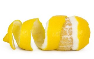 Citrus is one way of how to clean kitchen countertops.