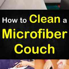 How To Clean Stains From A Microfiber Sofa Blue And Gold Striped Couch