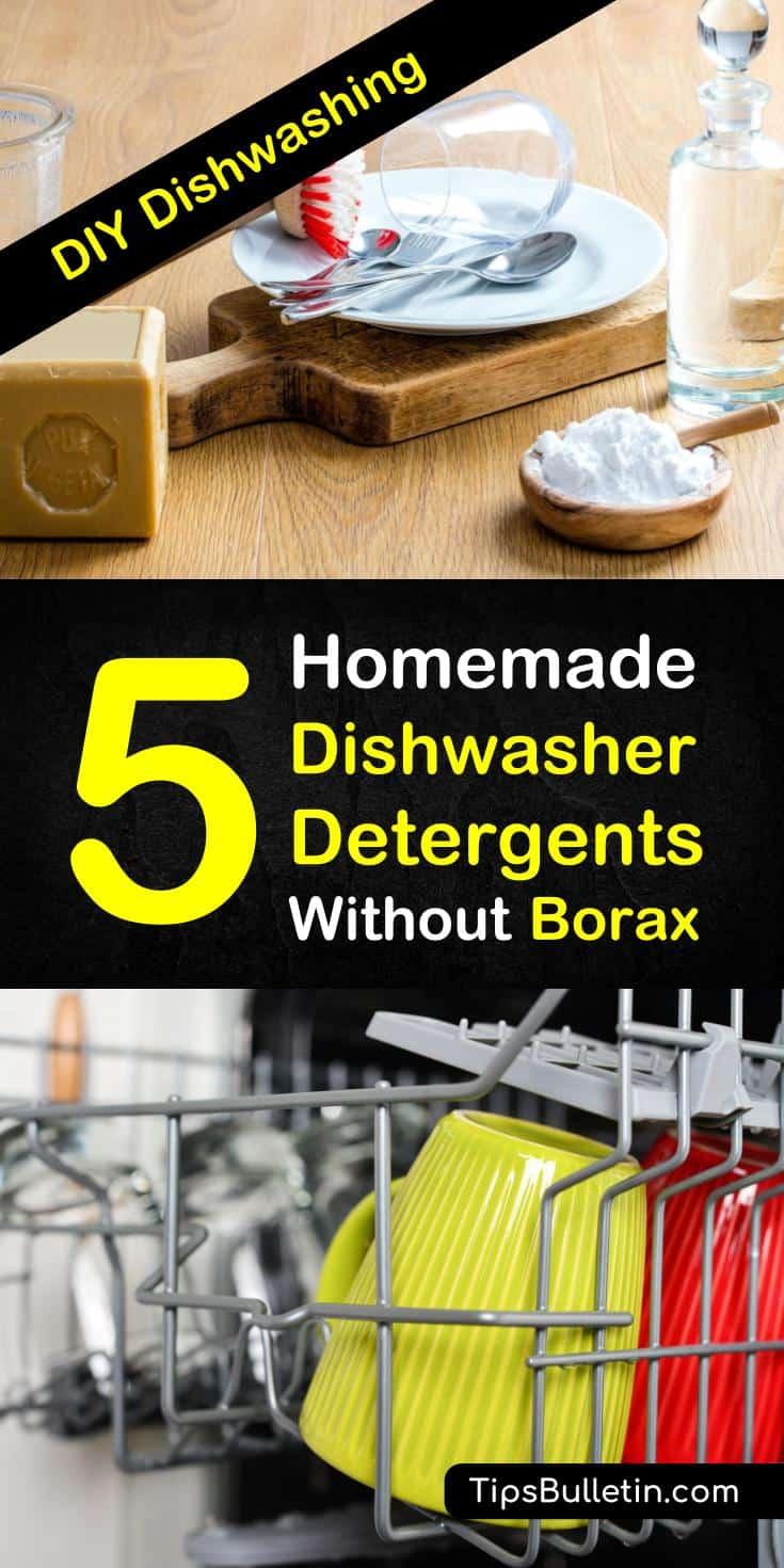 Borax In Dishwasher