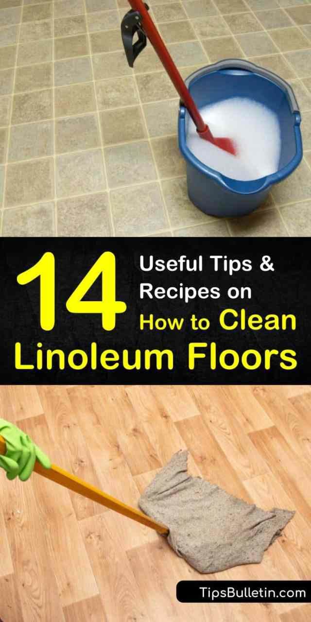 19 Creative Ways to Clean Linoleum Floors