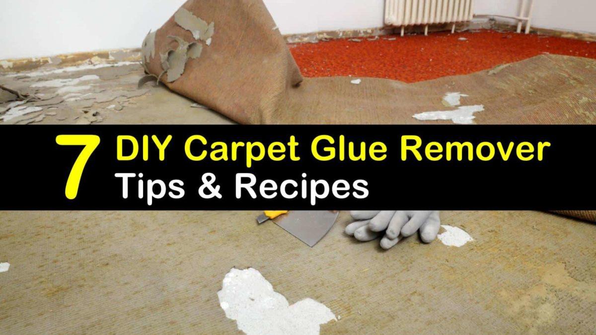 7 homemade carpet glue remover recipes
